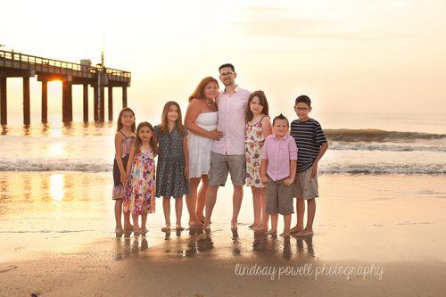Family photos near st augustine pier